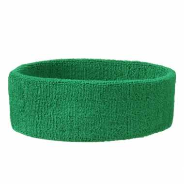 Groene hoofdbandjes