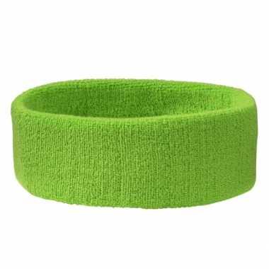 Lime groen hoofdbandje