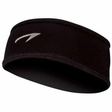 Sport hoofdband zwart voor volwassenen
