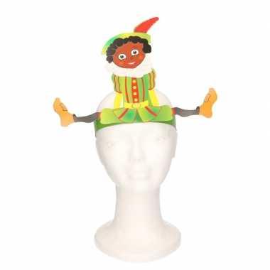 Verstelbare pieten hoofdband van karton voor kinderen